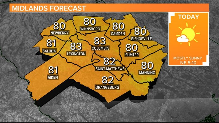 Very warm today and tomorrow, cooler temperatures on the way