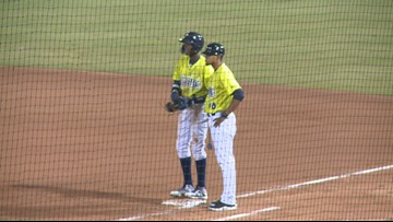 Fireflies rookie named to the SAL All-Star Team
