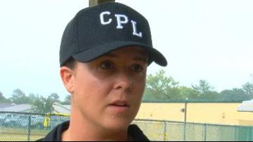 One Woman Makes History At Lexington County Baseball Stadium.
