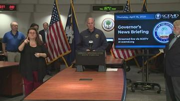 El gobernador de Carolina del Sur espera que la economía esté 'zumbando' a fines de Junio