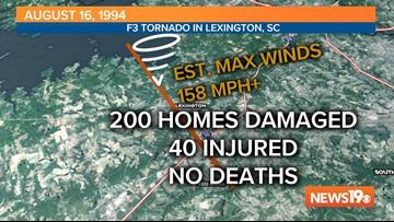 25 years ago today, a tornado devastated Lexington
