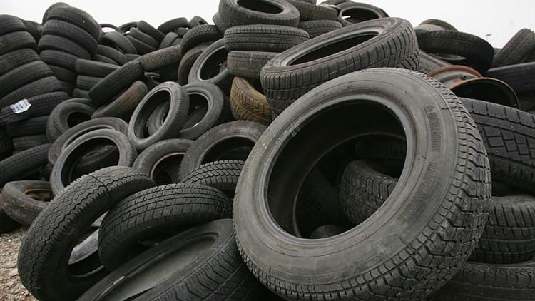 South Carolina agencies to crack down on illegal tire dumps