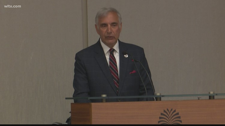 Harris Pastides officially interim president of USC