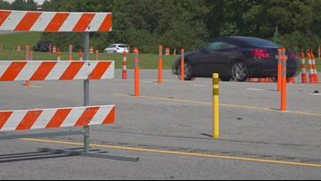 Detours to Orangeburg and Calhoun Counties during lane reversals