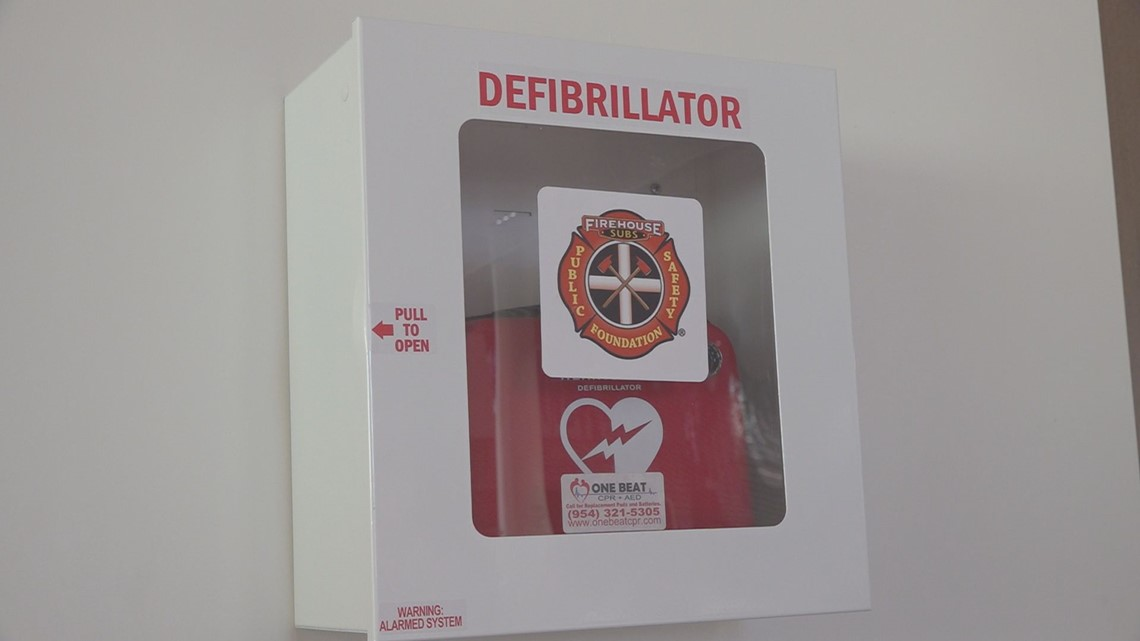 Live-saving defibrillators installed at all Richland County libraries
