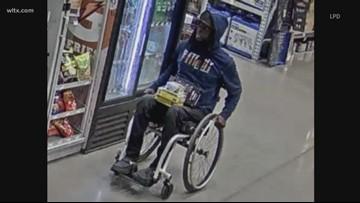 Lexington shoplifting suspect