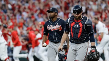 Braves fall to the Cardinals in 10 innings