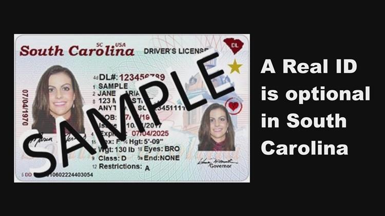 does tsa accept south carolina drivers license