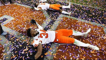 National championship parade and celebration set for January 12 at Clemson