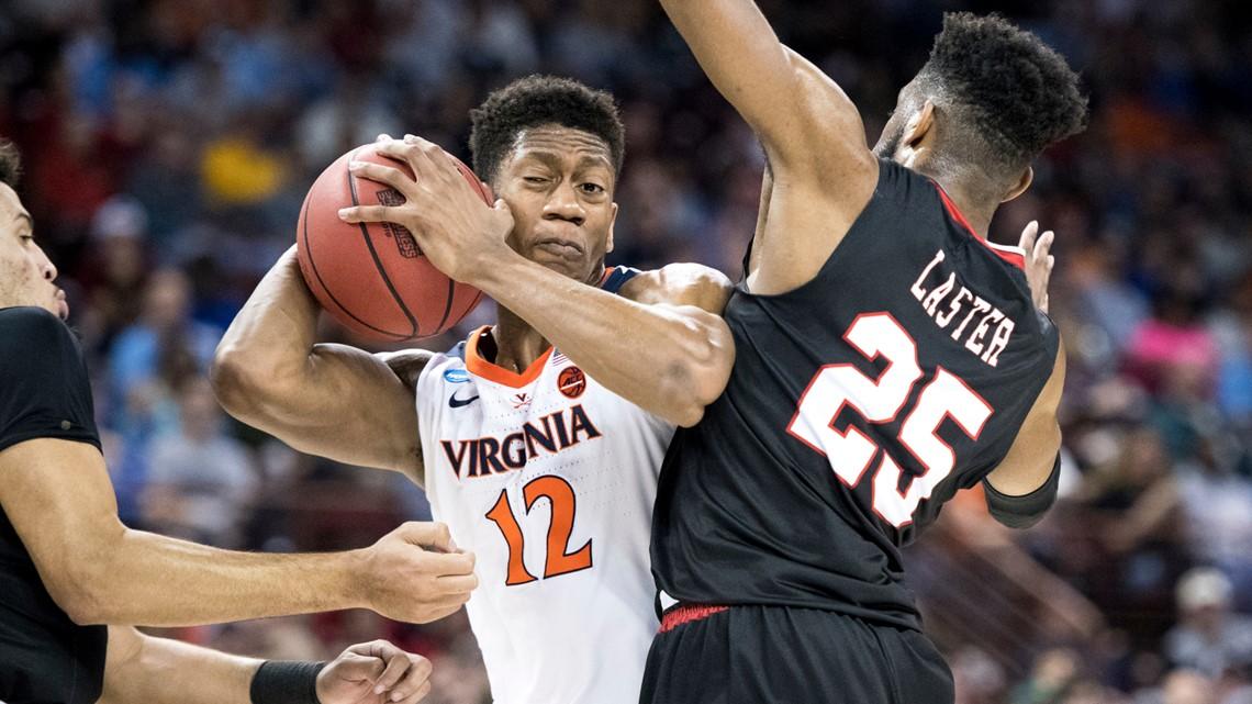 Virginia avoids 2nd straight huge NCAA tourney upset