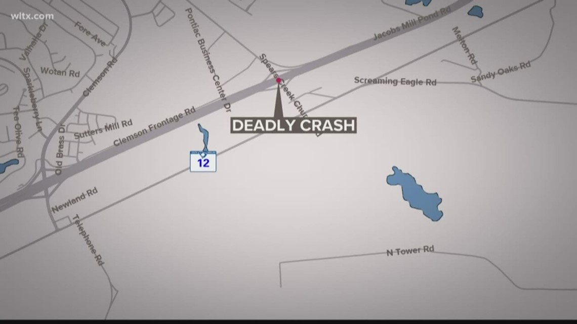 Two men killed while changing tire on I-20