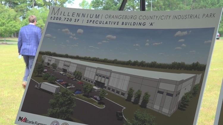 Millennium Speculative  Building at the Orangeburg County/city industrial park