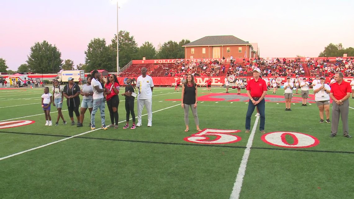 Ron Parker enters the Newberry College Hall of Fame