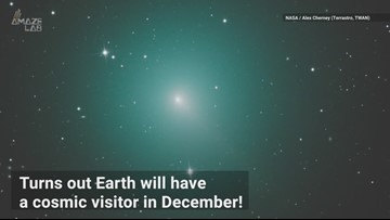 Comet 46P/Wirtanen passes close to Earth