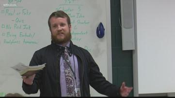 News19 Teacher of the Week: Reed Gunter