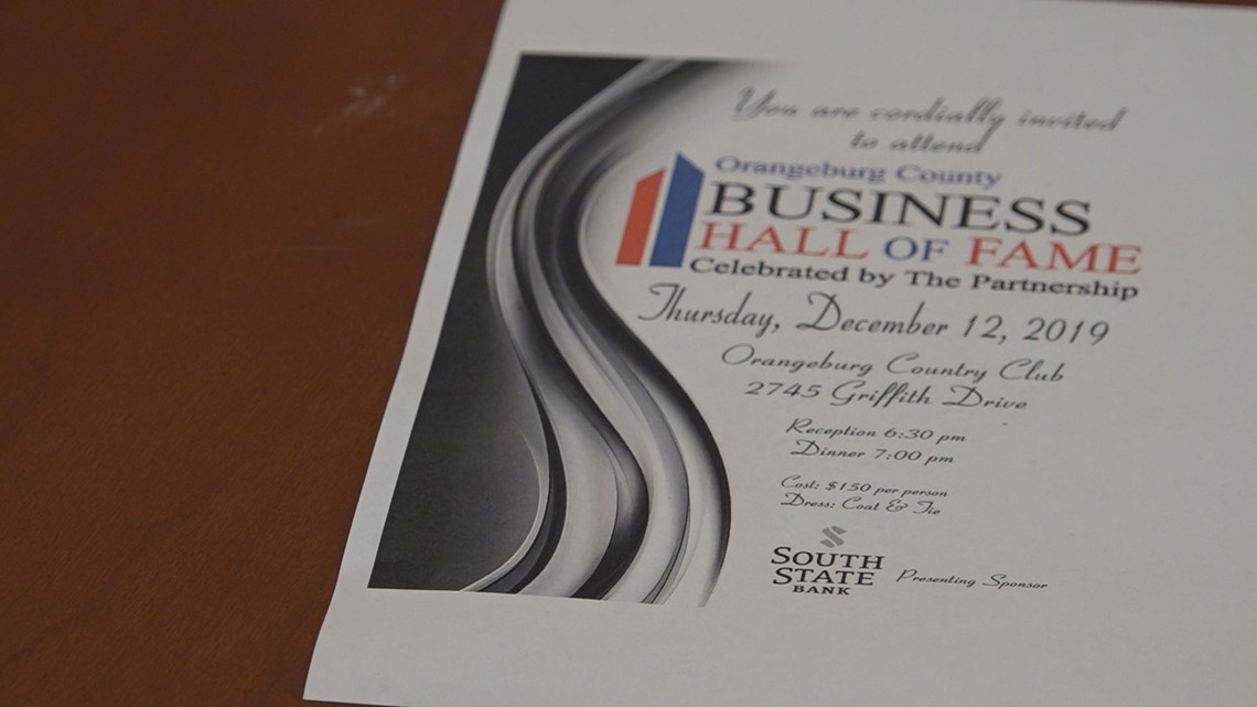 5th annual Orangeburg county Hall of Fame
