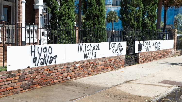 Hurricane Dorian Charleston Aftermath Sign 2