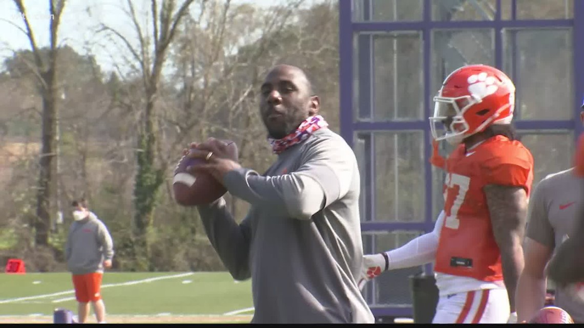 CJ Spiller takes on a huge role at his alma mater