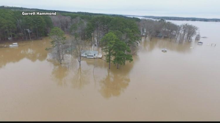 Lake Wateree reaches highest level since Hurricane Hugo