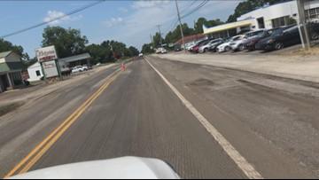 Road being resurfaced in Batesburg-Leesville