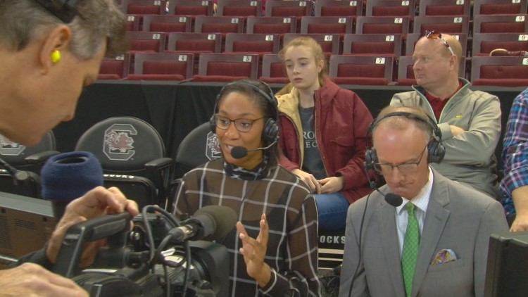 Former Gamecock, Heathwood Hall Star A'ja Wilson working for ESPN