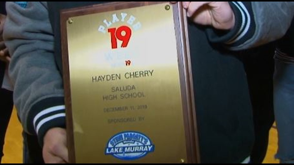 Hayden Cherry is the News19 Player of the Week