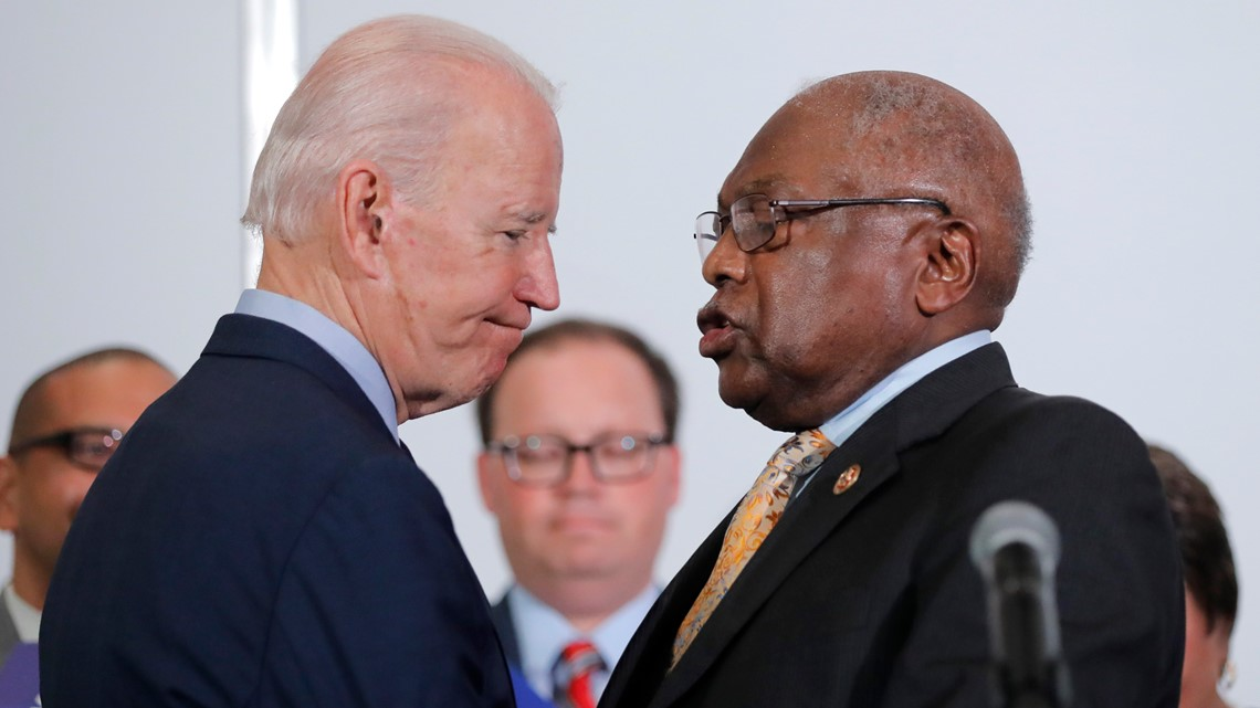 Clyburn says president-elect Biden falling short when appointing Black figures