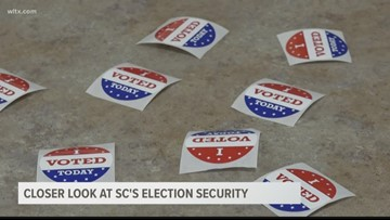 Closer look at South Carolina's election security