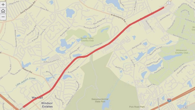 Safety improvements planned for section of Two Notch Road