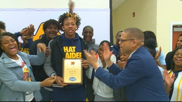 Raekwon Horton is the News19 Player of the Week