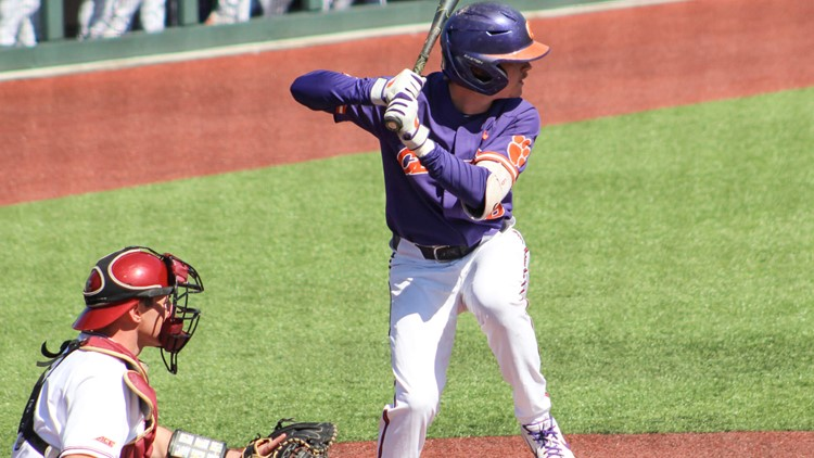 Clemson defeats Boston College 9-3 in extra innings