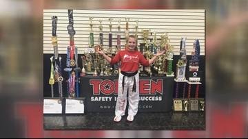 Elgin's Natalie Allen is karate world champion