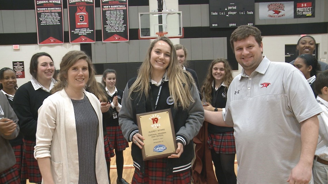 Audrey Meyers is a News19 Player of the Week