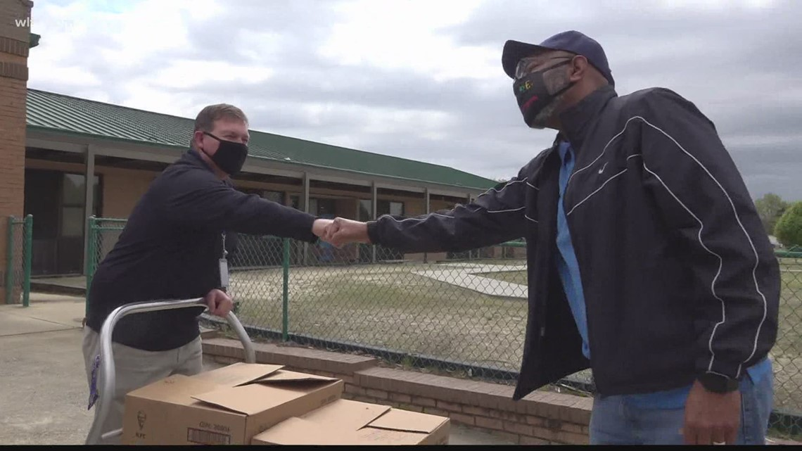 Sumter churches team-up to bring food to teachers, staff as 'gesture of love'