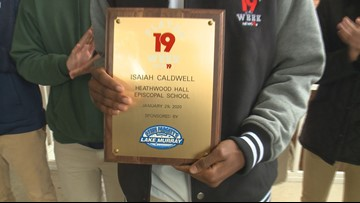 Heathwood Hall senior guard is a News19 Player of the Week