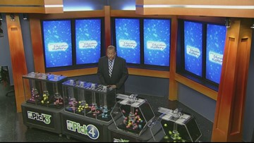 Evening Lottery Results Jan 18, 2019