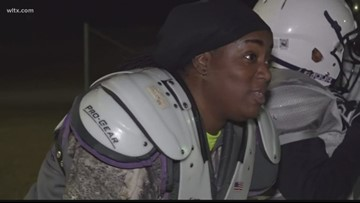 All female tackle football team in the Midlands prepares for inaugural season