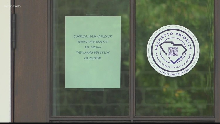 'Keep the faith,' Sumter restaurant closes due to pandemic but shares message of hope