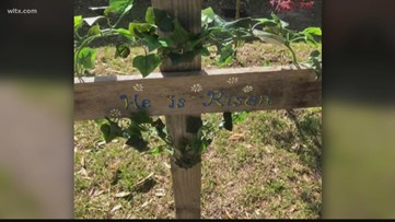 Sumter cross project in honor of Easter
