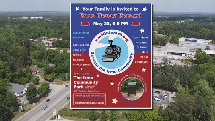 Charity food truck event to be held in Irmo