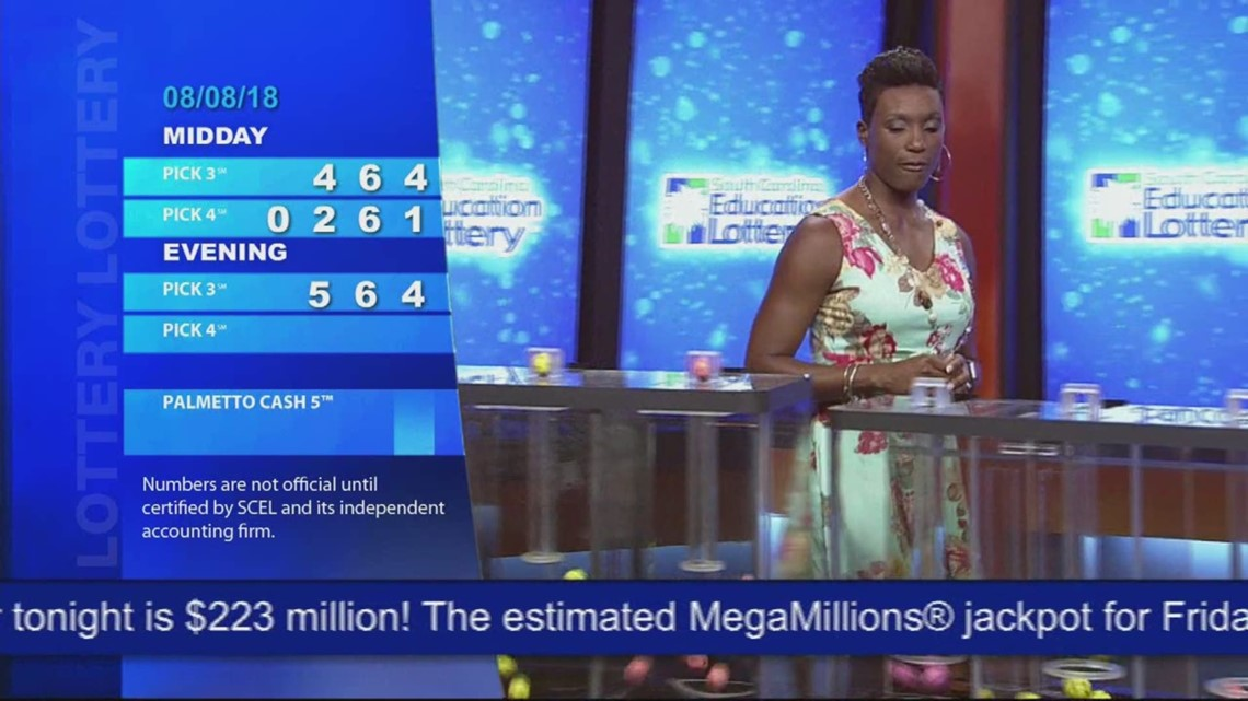 Evening Lottery Results Aug 8, 2018