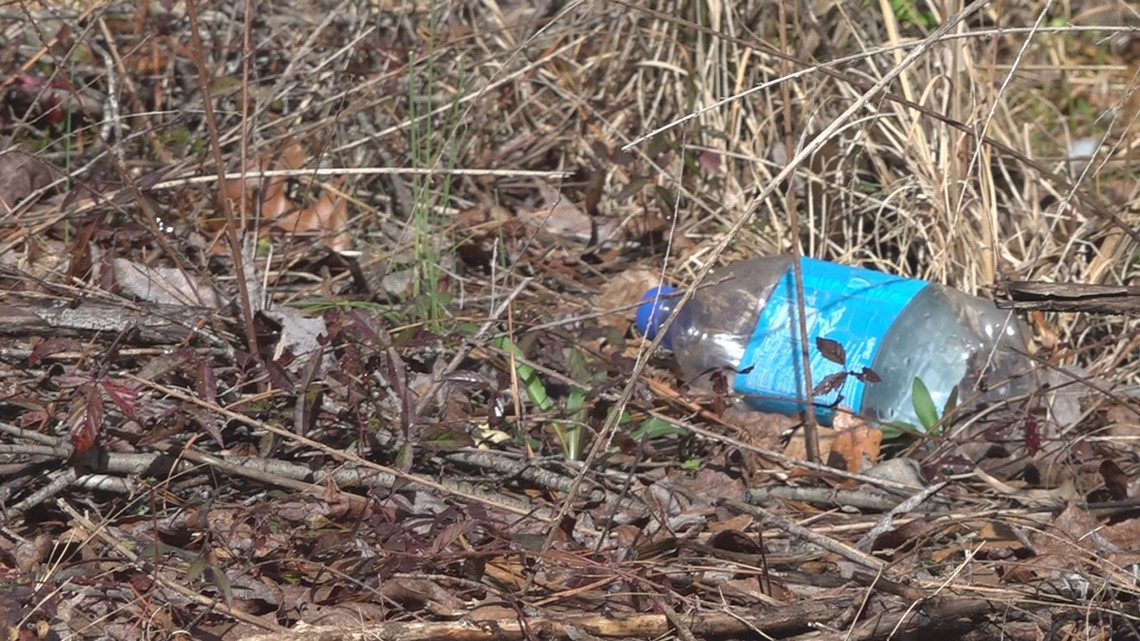 Handling litter in the Midlands