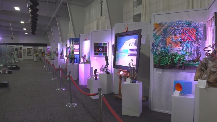 Art Gallery at SC State Fair 2019