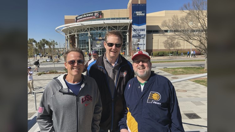 Longtime friends celebrate March Madness