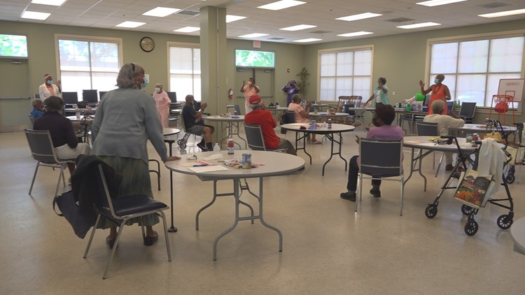 Sumter seniors inch toward normalcy with phased reopening of Senior Services center