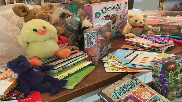 Mutual Aid toy and game donations