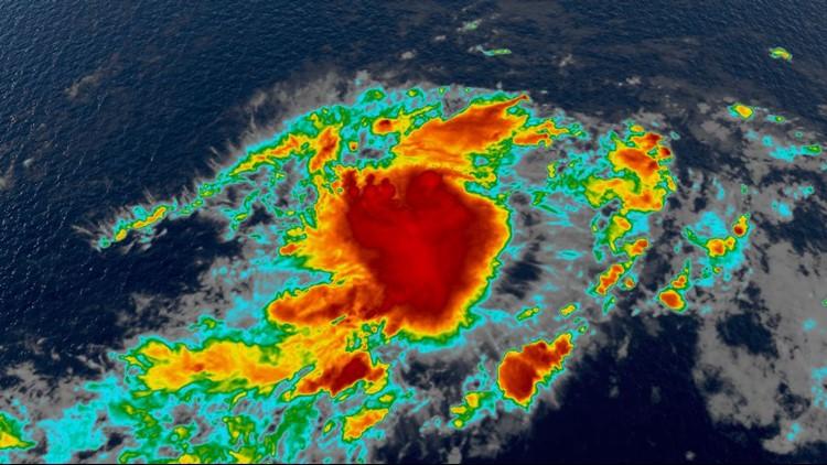 Tropical Depression Ten forms in Atlantic