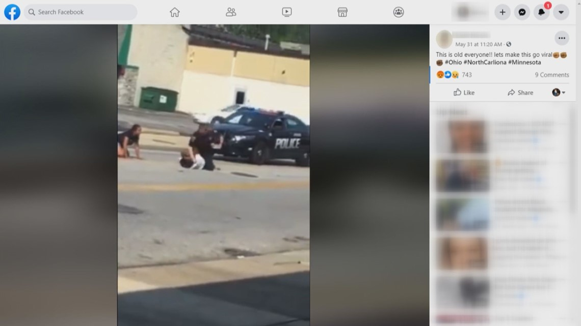 VERIFY: Is video of officer punching man on the ground from SC?
