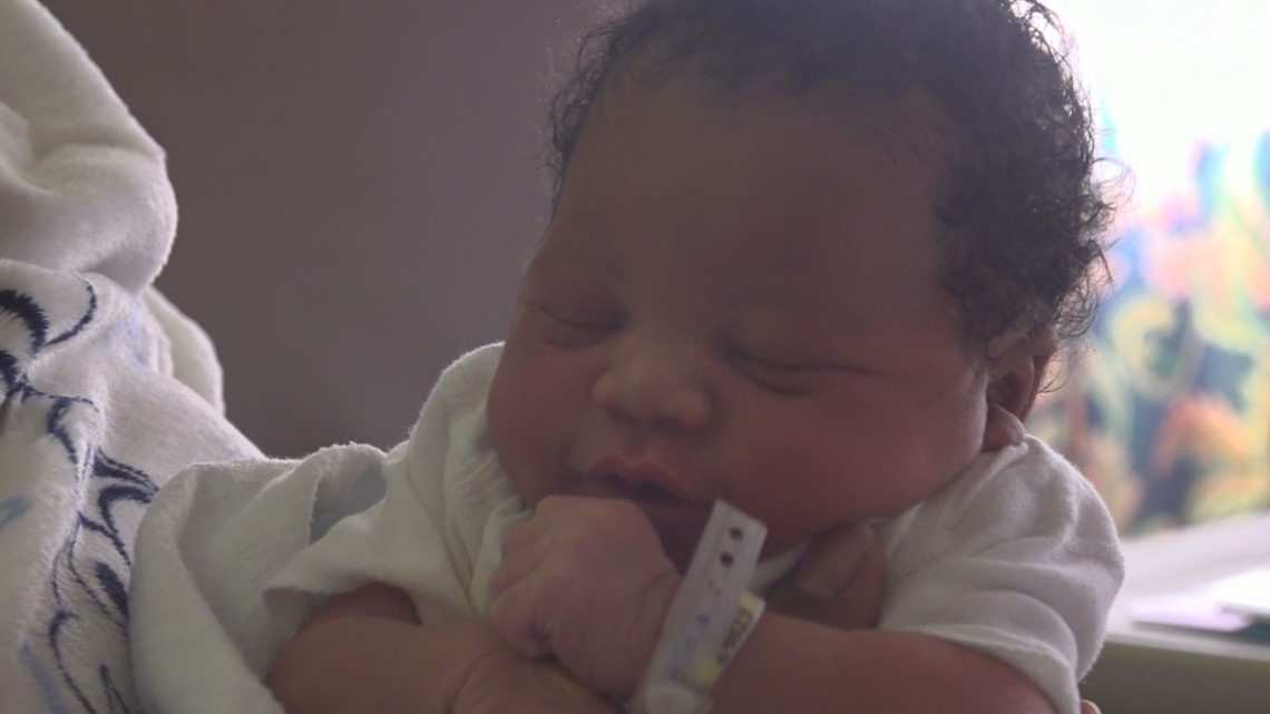 'Best present you could ever get' delivered a week early on Christmas day in Orangeburg