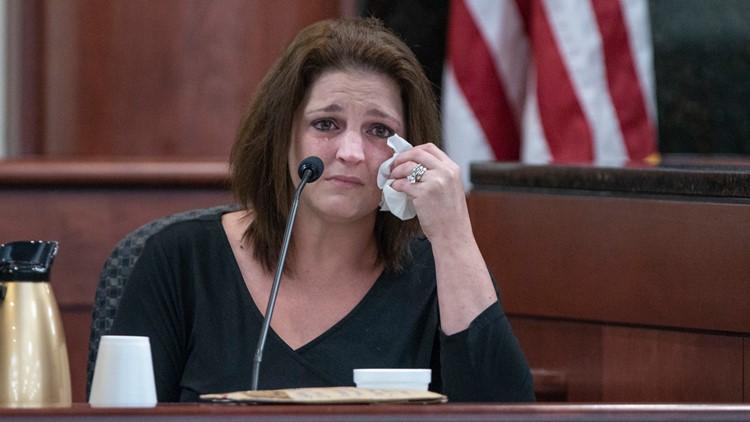 Amber Jones Kyzer, ex-wife of Tim Jones